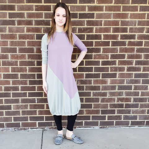 Sorbet Ribbed Bubble Dress: Teen - The Mimi Boutique