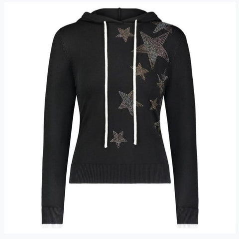 Star Hoodie Sweater by Yal - The Mimi Boutique