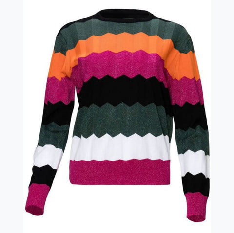 Colorful Sweater by Yal