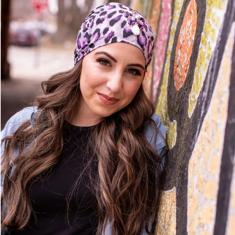 April Leopard Beanie - The Mimi Boutique
