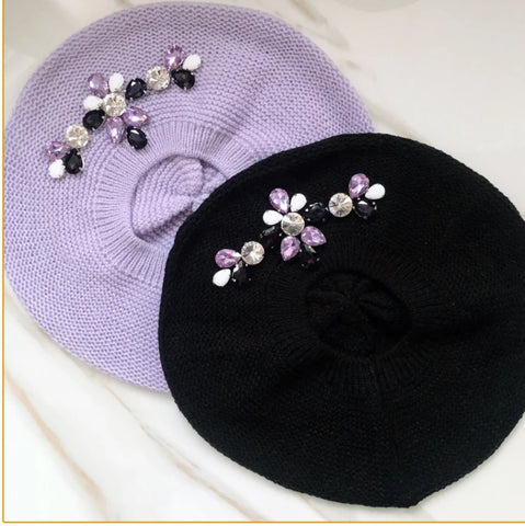 April Beret by Valeri - The Mimi Boutique
