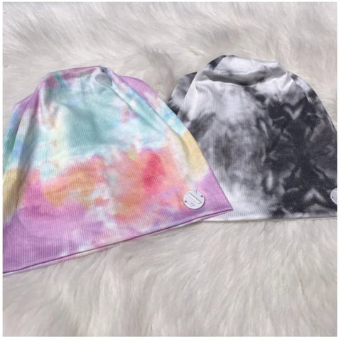 Butter Soft Tie Dye Ribbed Beanie