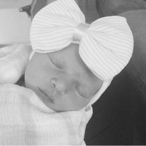 Baby Bow Hat Newborn - The Mimi Boutique