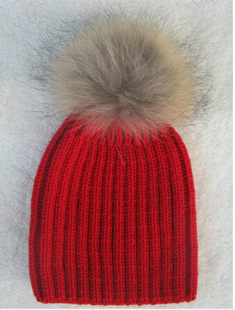 Pom Pom Kids Hat - The Mimi Boutique