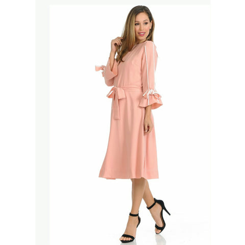 Pink Daisey Dress - The Mimi Boutique