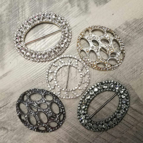 Crystal Belt Buckles - The Mimi Boutique