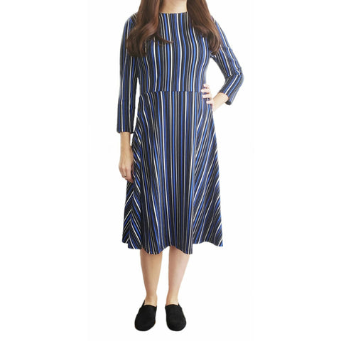 Dara Striped Dress by Jenny - The Mimi Boutique