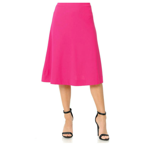 Ivee Aline Skirt: Hot Pink - The Mimi Boutique