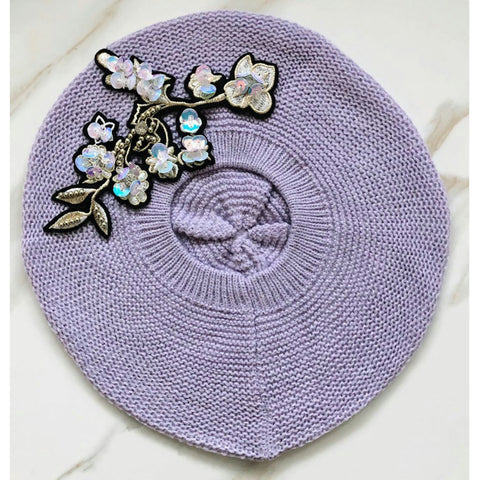 Fleur Beret by Valeri - The Mimi Boutique