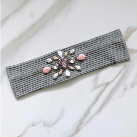 Isabella Ribbed Headband by Valeri - The Mimi Boutique