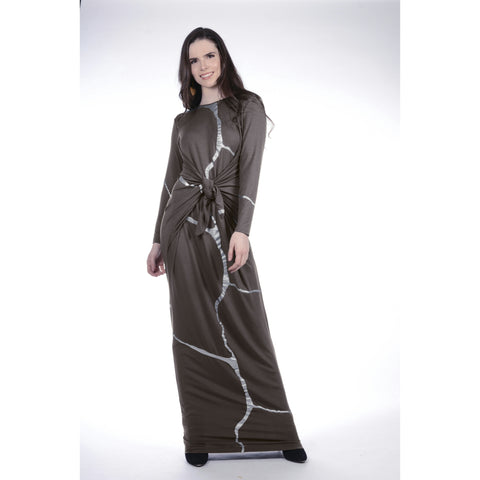 Boho Maxi Kintsugi Collection: Charcoal - The Mimi Boutique