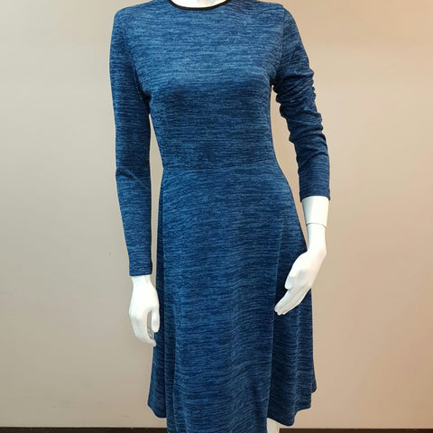 Anita Dress: Blue - The Mimi Boutique