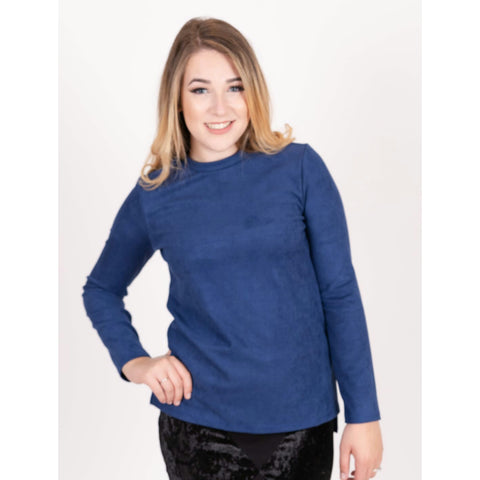 Suede Tunic Top (2 Colors)