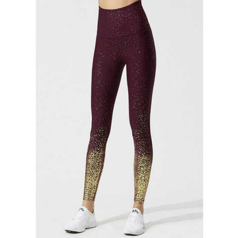 Dusty Burgundy Leggings - The Mimi Boutique