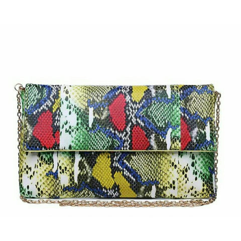 Snake Print Clutch - The Mimi Boutique