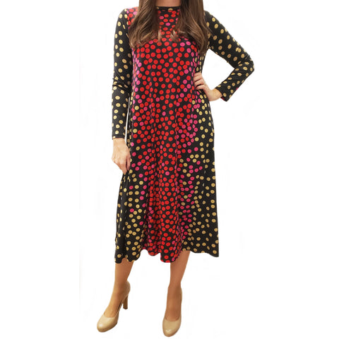 Lolly Pop Dotted Dress - The Mimi Boutique