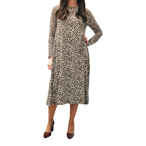 Lindy Leopard Dress - The Mimi Boutique