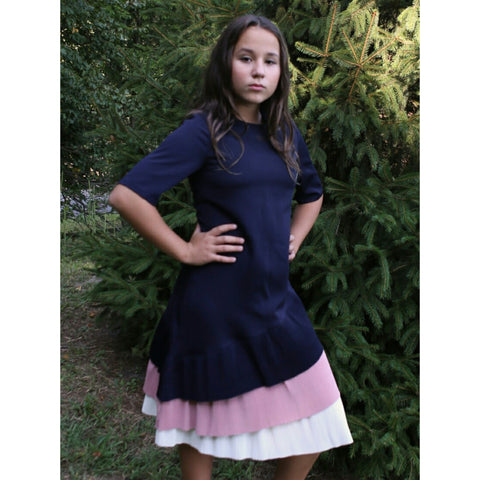 Emma 3 Teired Dress: Teen - The Mimi Boutique
