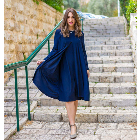 Navy Nursing Dress by DF