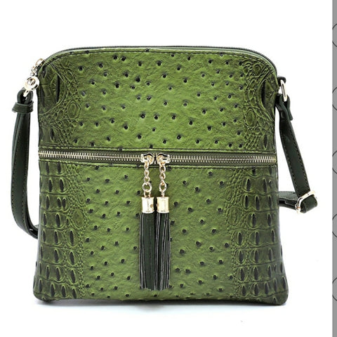 Croc Crossbody Bag - The Mimi Boutique
