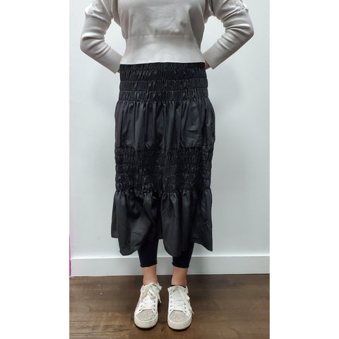 Ariana Skirt: Black - The Mimi Boutique