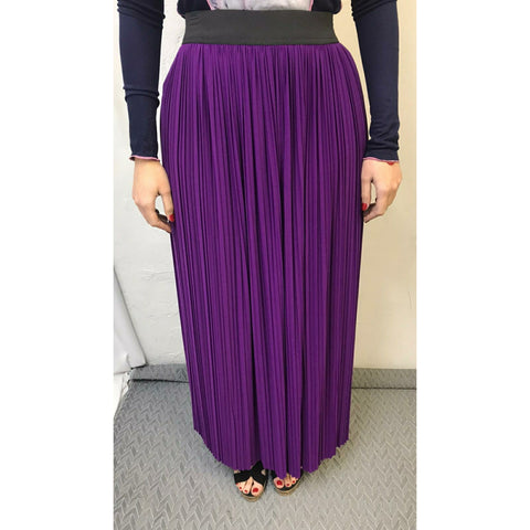 Pleated Maxi Skirt: Lots Of Colors - The Mimi Boutique