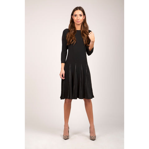 Pleated LBD - The Mimi Boutique