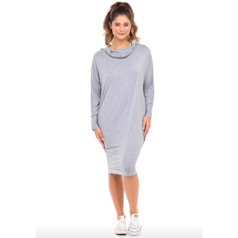 Everything Dress: Light Grey - The Mimi Boutique
