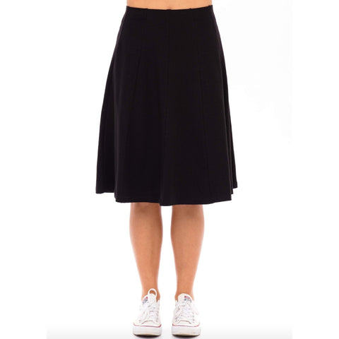 Panel Skirt by Maya's: Black - The Mimi Boutique