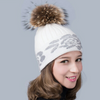 Floral Pom Pom Hat - The Mimi Boutique