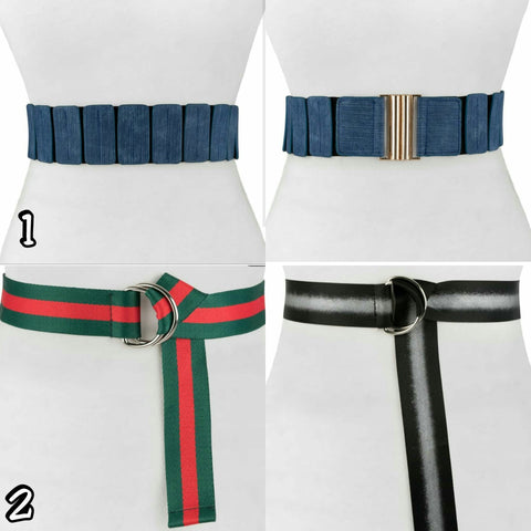 Fashion Belts (More Styles) - The Mimi Boutique