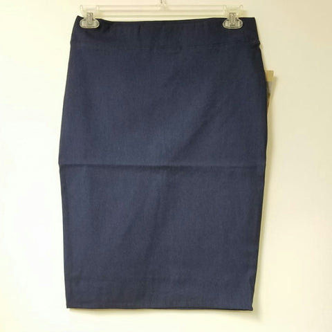 Riva Pencil Skirt-Denim Blue - The Mimi Boutique