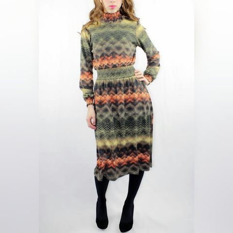 Autumn Dress - The Mimi Boutique