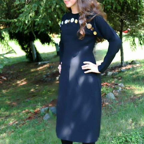 Button Ivee Dress - The Mimi Boutique