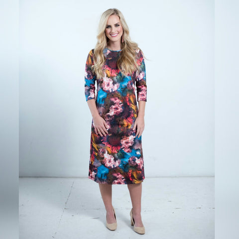 Petal Dress-Multi Color - The Mimi Boutique