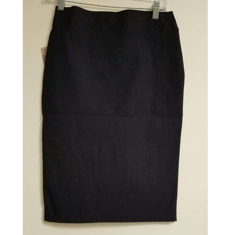 Riva Pencil Skirt-Navy - The Mimi Boutique