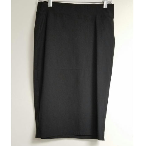 Riva Pencil Skirt-Black