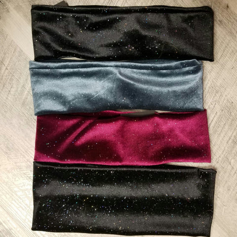 Velvet Stardust Head Band & Ribbed - The Mimi Boutique