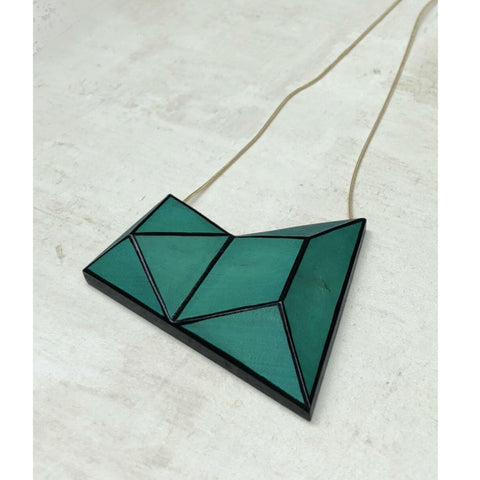 Sylica Necklace: Geometric Diamond
