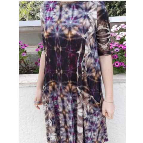 Sky Swing Dress: Purple Dynasty