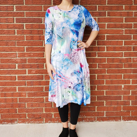 Sky Swing Dress: Mystical - The Mimi Boutique