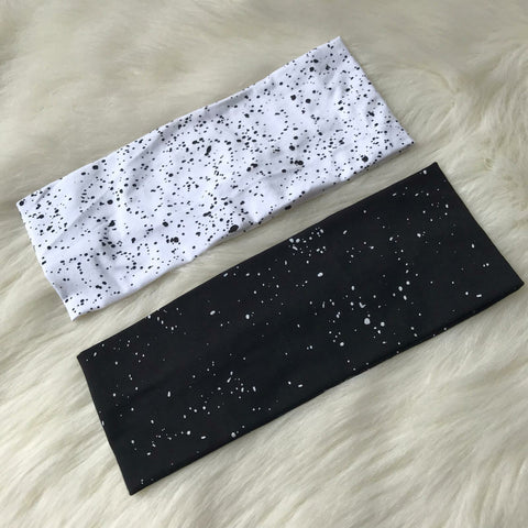 Splatter Flat Headband
