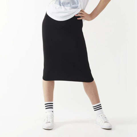 Short Tube Skirt: Black