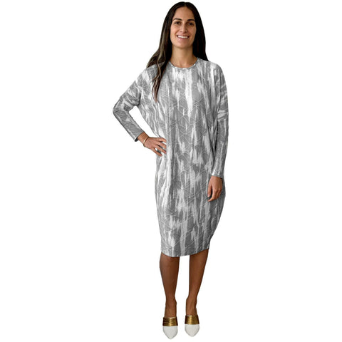 Mazali Dress: Grey