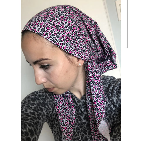 Cheetah Headscarf by Valeri