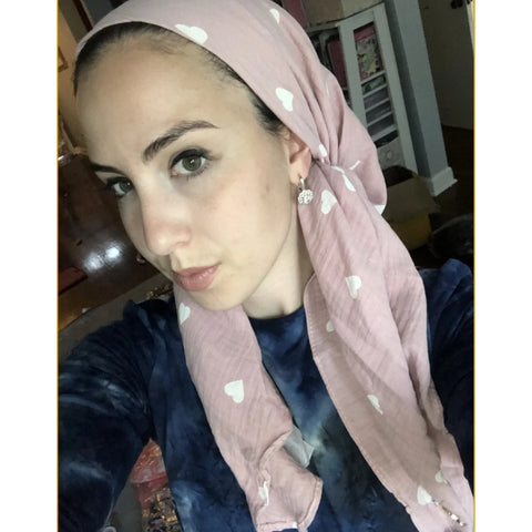 Heart Angel Soft Headscarf by Valeri: 4 Colors