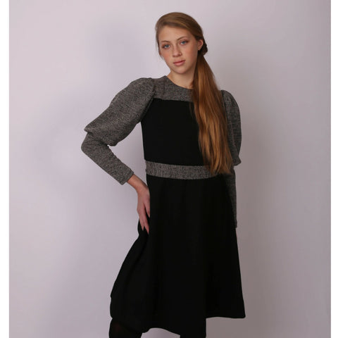 Merav Tweed Dress: Teen