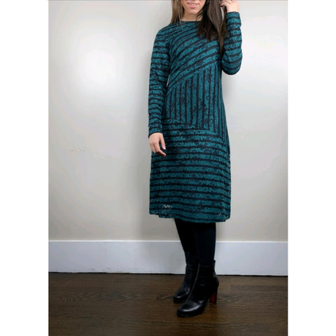 Gracey Teal Lace Dress