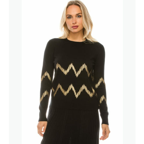 Chevron Sweater by Yal