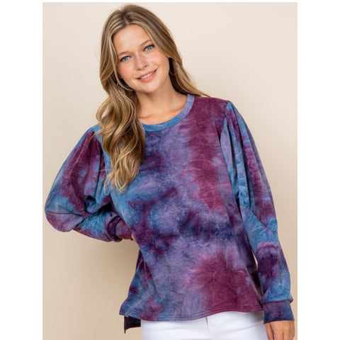 Fall Tye Dye Sweatshirt